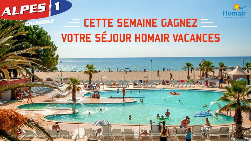 Alpes 1 Grenoble vous offre vos vacances !