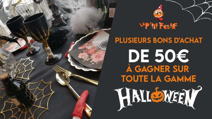 Venez fêter Halloween avec le P'tit Festif ! cette semaine sur Alpes 1