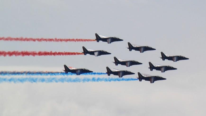 La Patrouille de France ce samedi au Grenoble Air show