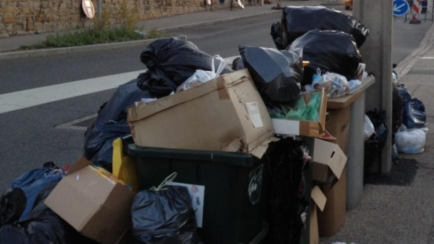 Le mouvement de grève continue dans les déchetteries de la Métropole grenobloise