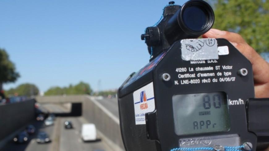 Saint-Sauveur: contrôlé à 203 km/h sur l'autoroute