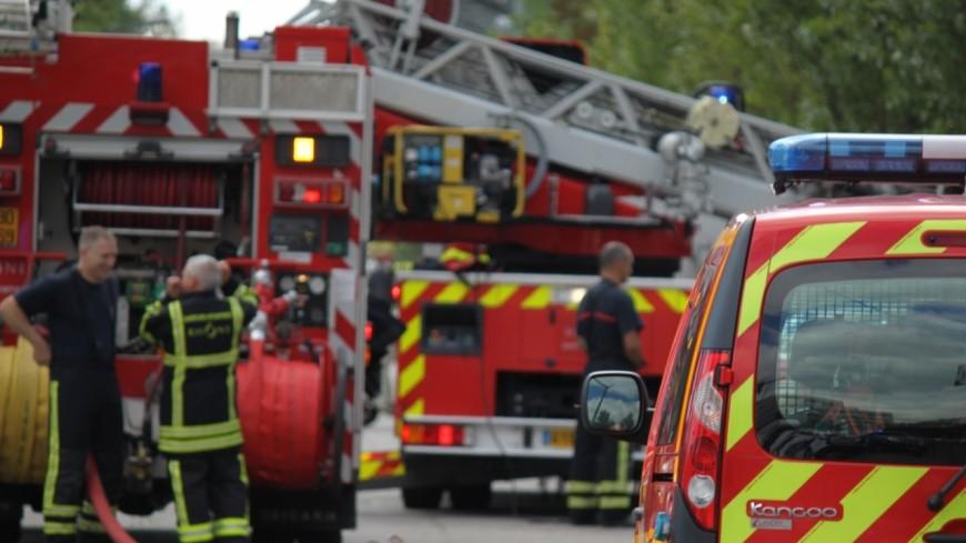 Un homme secouru dans un magasin en feu à Echirolles