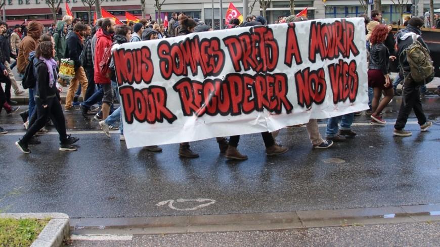 Rentrée sociale : entre 2 500 et 3 500 manifestants à Grenoble