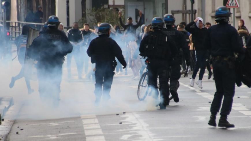 Grenoble : des violences lors de manifestations de lycéens