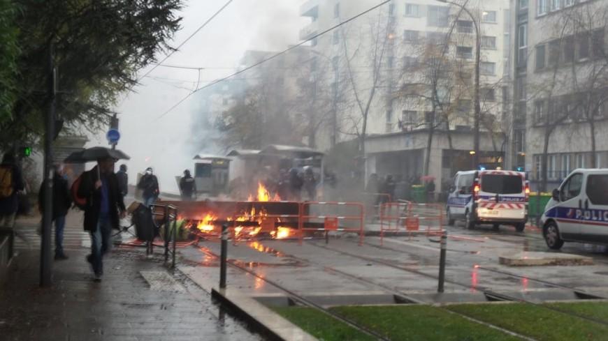 Lycées bloqués à Grenoble : des violences urbaines jeudi, plusieurs interpellés