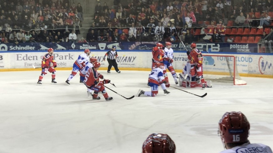 Les Brûleurs de Loups à Nice pour le match 3 des playoffs