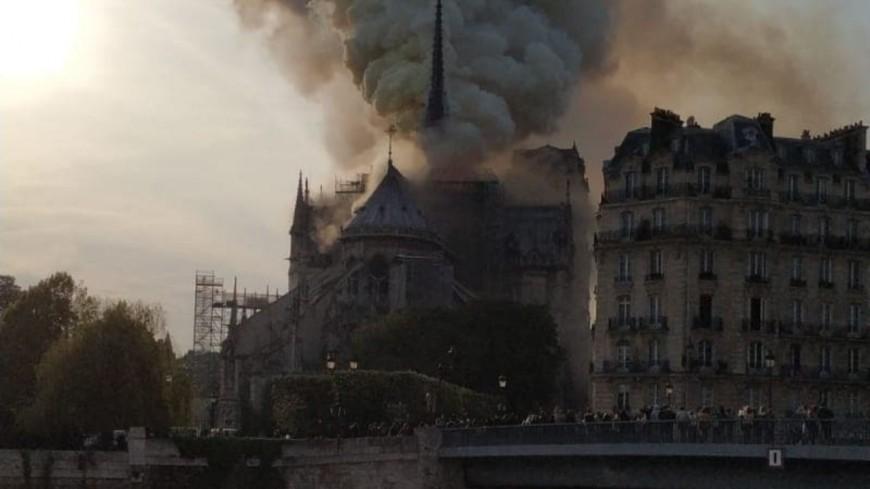 Incendie à Notre-Dame de Paris : l'émotion également à Grenoble