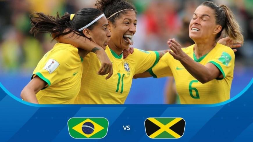 Coupe du monde féminine : à Grenoble, le Brésil s'impose face à la Jamaïque