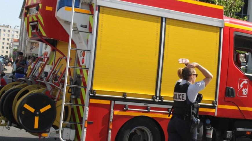 Grenoble : cinq blessés lors d'un incendie