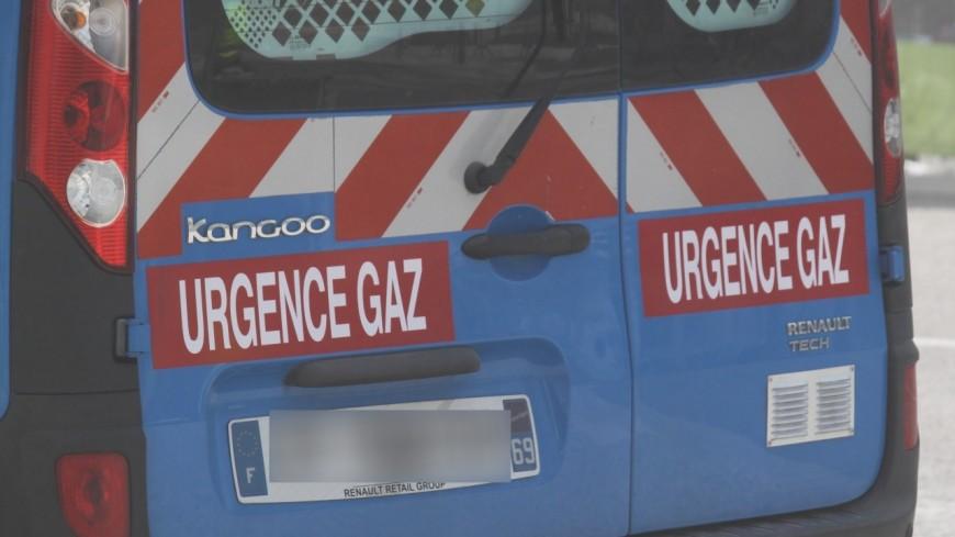 Une conduite de gaz arrachée à Voiron