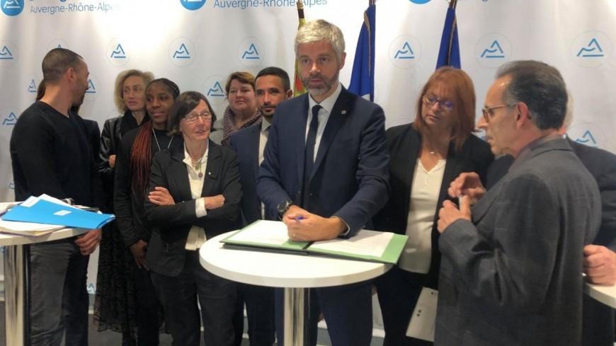 Laurent Wauquiez annonce 300 places d'hébergement pour protéger les femmes battues