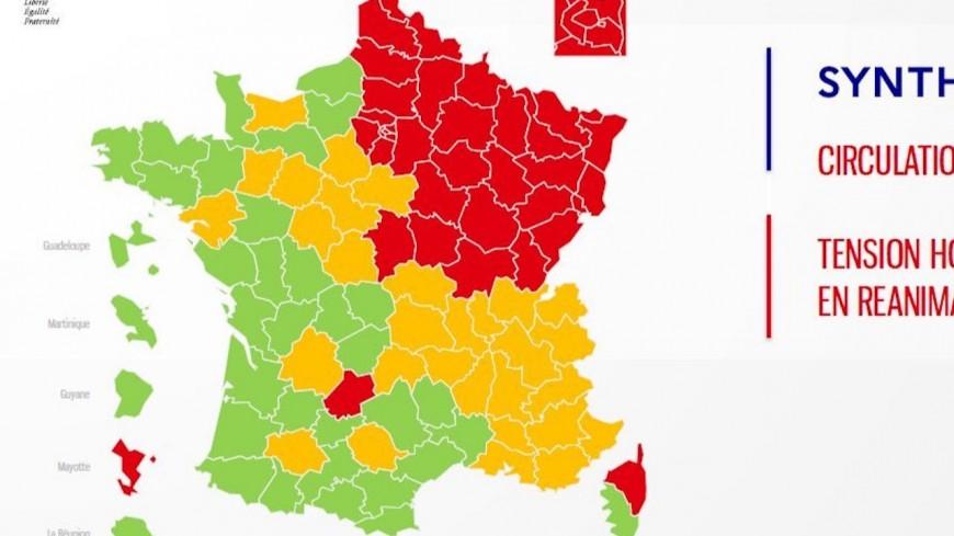 Carte du déconfinement : l'Isère est un département orange