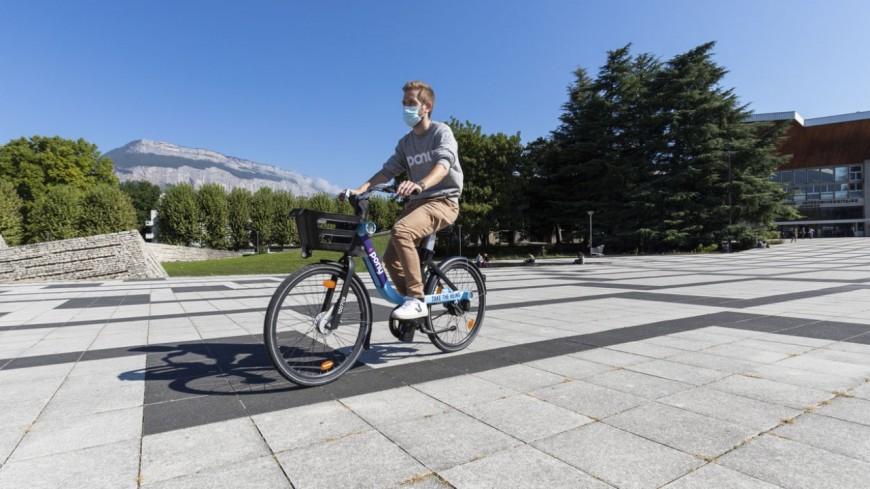 Grenoble : mise en place des vélos électriques en libre-service