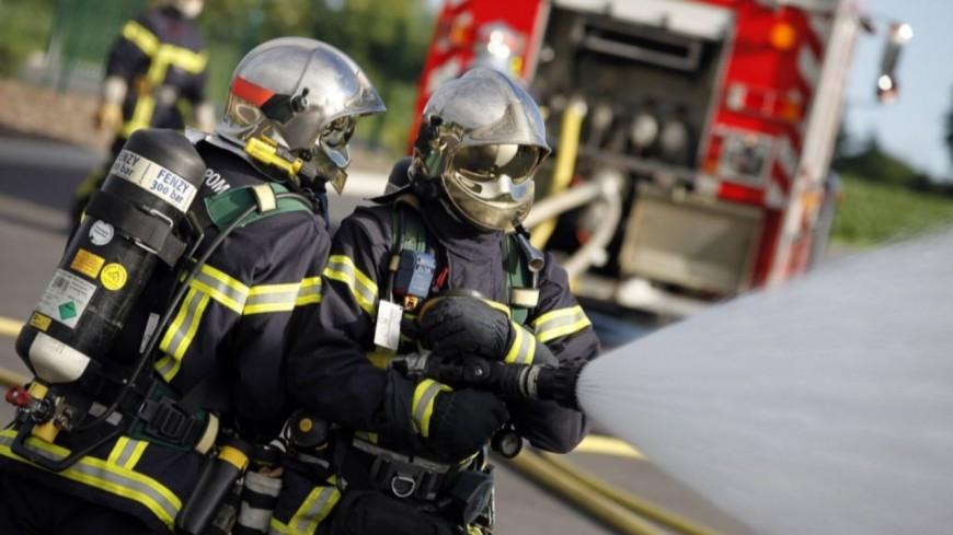 PARMILIEU - La maison d'un couple âgé en proie aux flammes