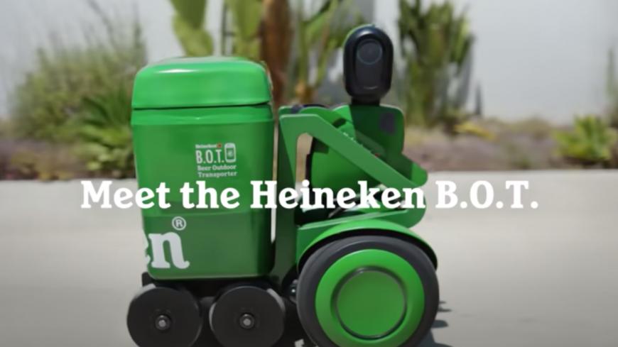 Un robot conçu pour vous apporter des bières fraîches ! (vidéo)