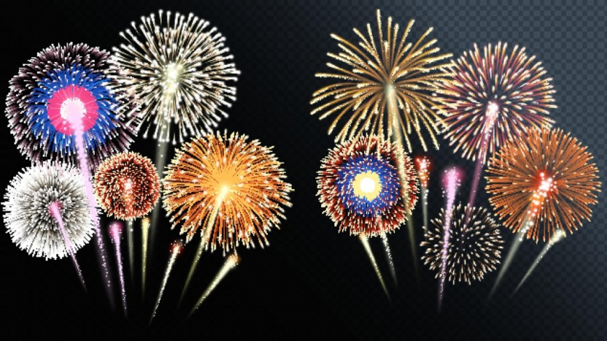 ISÈRE - Les feux d'artifice du 14 juillet dans le département !