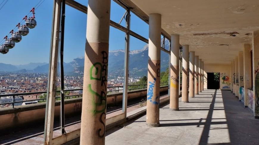 GRENOBLE - Dans le bâtiment de l'ancienne université, un étudiant chute de 5 mètres