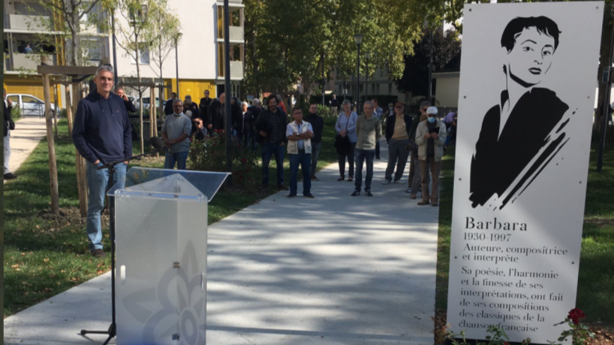 """Grenoble - Dans le quartier Châtelet, le square """"Barbara"""" a ouvert ses portes (photos)"""
