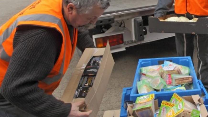Coup d'envoi de deux jours de collecte pour la Banque alimentaire de l'Isère