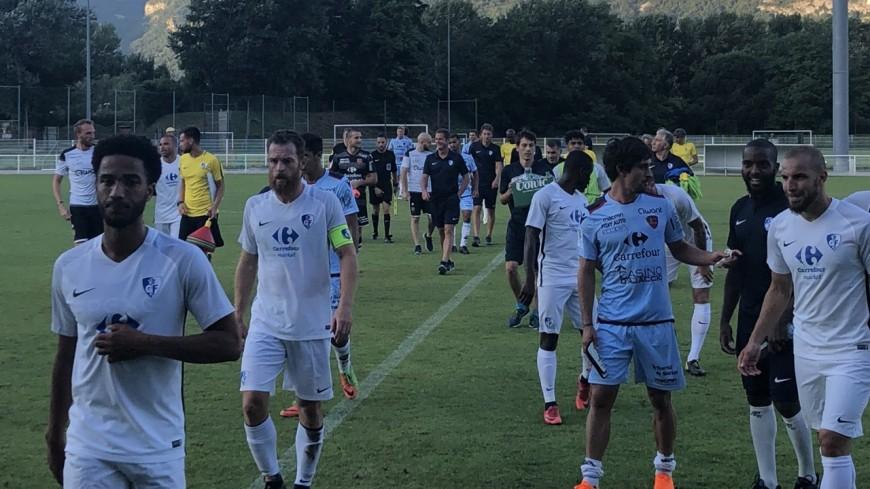 Match de préparation: le GF38 et le Gazélec Ajaccio font match nul (1-1)