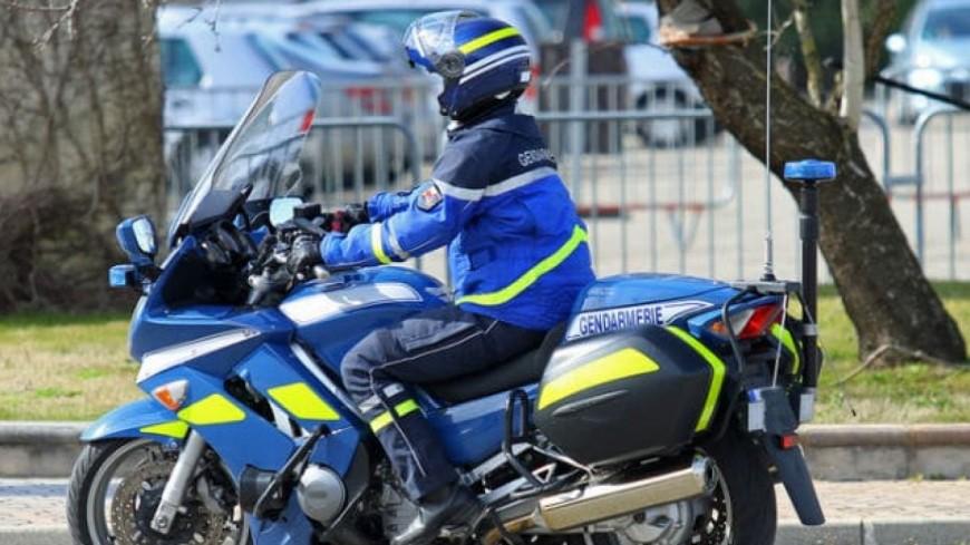 Drôme : un motard de la gendarmerie entre la vie et la mort