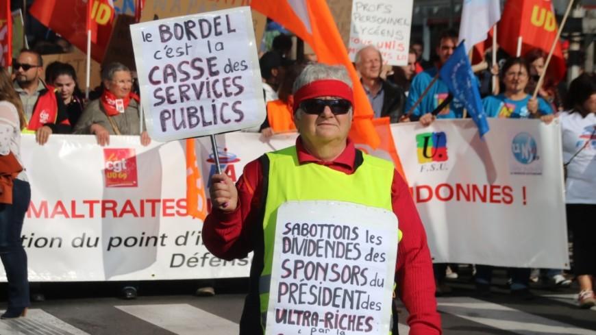 Grève dans la fonction publique : entre 2 200 et 3 500 manifestants à Grenoble