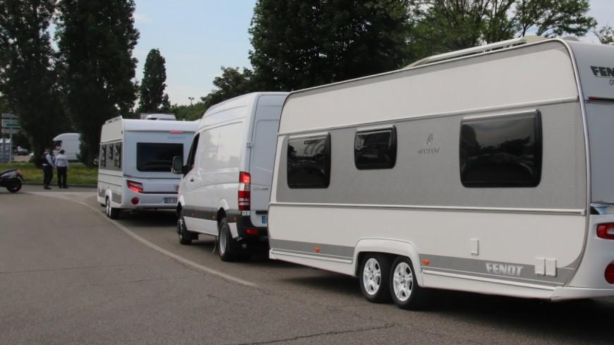 Grenoble: environ 250 caravanes de gens du voyage s'installent illégalement à Alpexpo