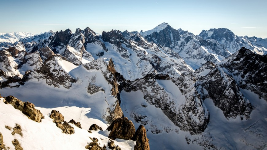 Trois alpinistes se tuent dans le massif des Ecrins