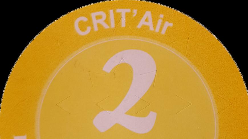 Vignette Crit'Air obligatoire pour circuler en Isère