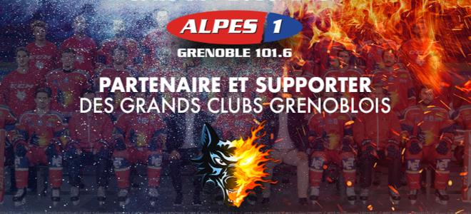 Alpes1 Grenoble: radio officielle des Brûleurs de Loups