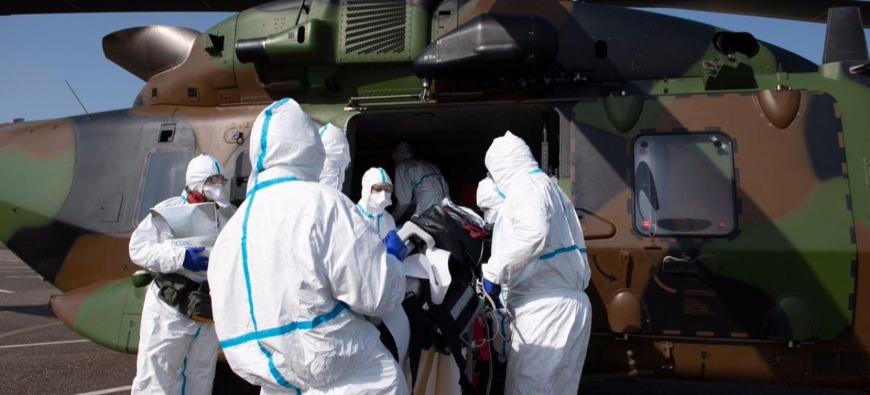 Coronavirus : des patients transférés de Besançon à Grenoble en hélicoptère