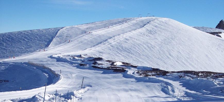 Isère : record d'enneigement pour le glacier des Deux-Alpes