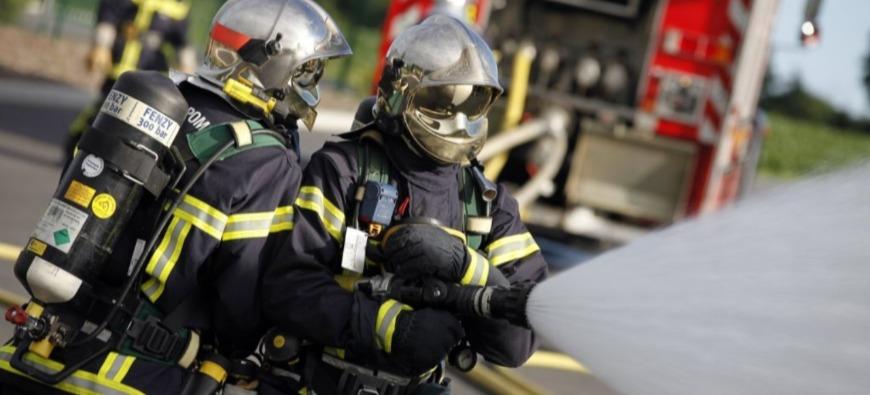 SONNAY - Deux pompiers blessés dans l'incendie d'une villa