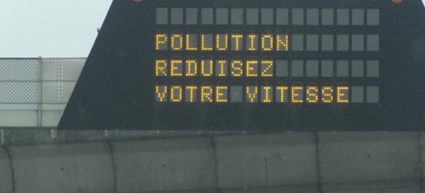 Alerte pollution - Circulation différenciée dans le bassin grenoblois et lyonnais