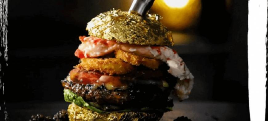 Le burger le plus cher du monde est là et il coûte... 5 000€ ! (photo)