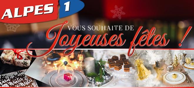 Alpes 1 Grenoble vous souhaite de joyeuses fêtes
