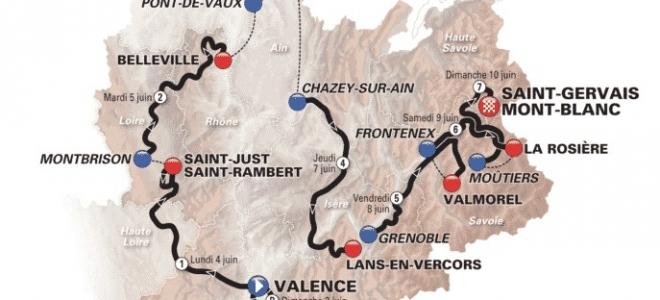 Le Critérium du Dauphiné 2018 fera étape à Grenoble !