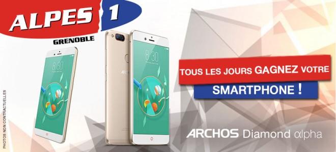 Gagnez votre Smartphone Archos Diamond Alpha !