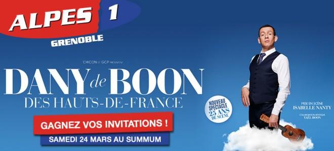 Gagnez vos invitations pour le spectacle de Dany Boon à Grenoble !