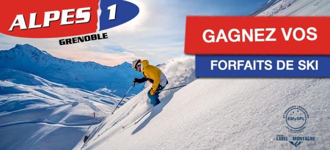 Gagnez vos forfaits de ski pour Saint-François-Longchamp !